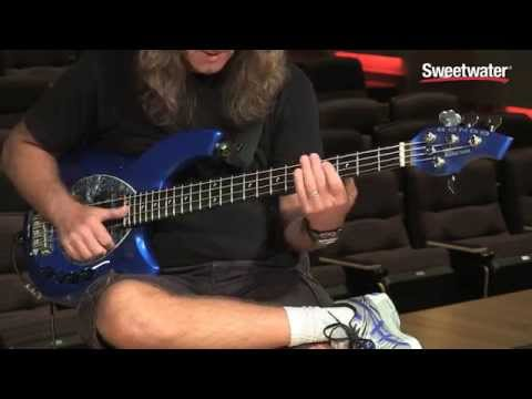 Music Man Bongo Bass 4 HH Demo with Dave LaRue - Sweetwater Sound