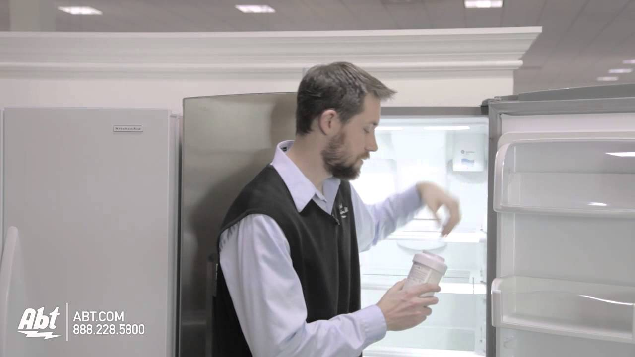 Refrigerator Water Filter Mwf How To Replace A Ge Mwf Refrigerator Water Filter Youtube