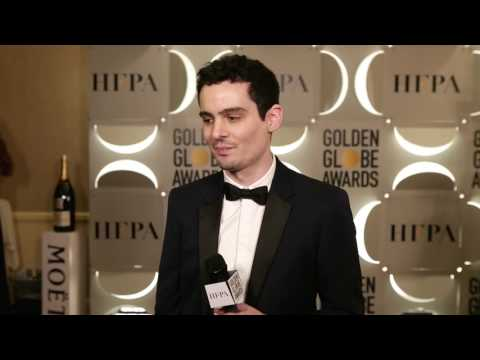 Backstage with Damien Chazelle - 74th Golden Globe Award Winner