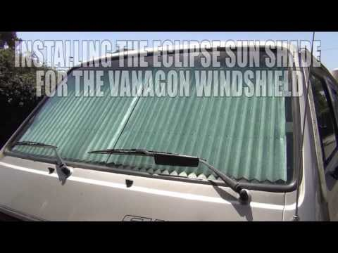 GoWesty : Eclipse Sun Shade for Vanagon Windshield
