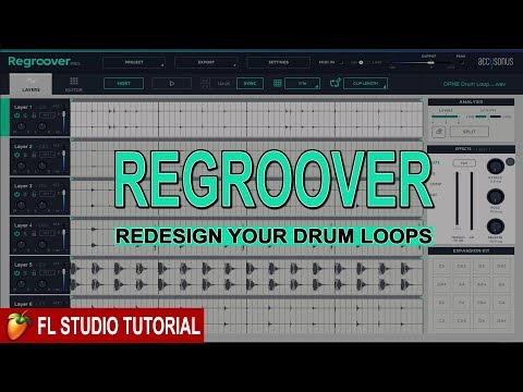 Regroover: The Easy Way To Edit Drum Loops - YouTube