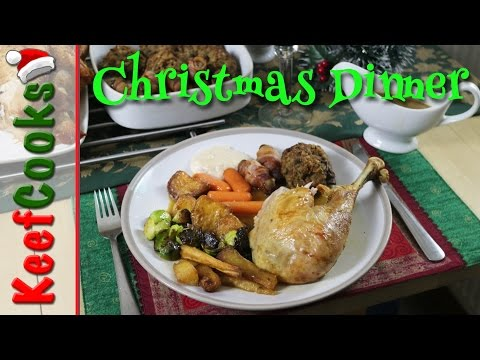 British Christmas Dinner - Traditional Recipe