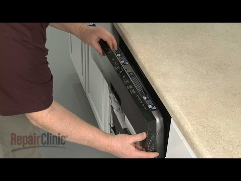 Control Panel - KitchenAid Dishwasher Model #KDTE204EPA3