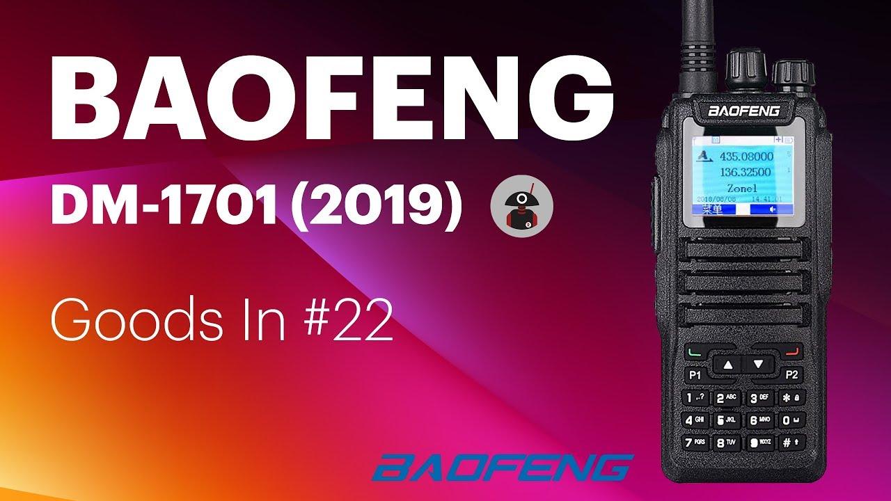 Goods In #22 - Baofeng DM-1701 Unboxing