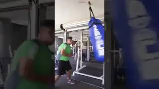 Boxing Fail - Men is really good boxer !!!! 😍😂