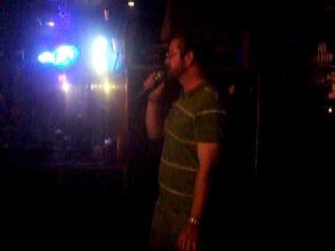 Paulie at McCrobie's Karaoke Night