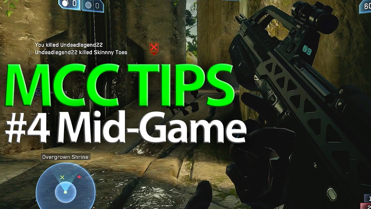 Halo MCC Tips #4 Map Control | Halo Tips & Tricks 60fps ...