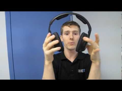Sennheiser Duo Cinema 170 Dual Wireless Headphone System Unboxing & First Look Linus Tech Tips