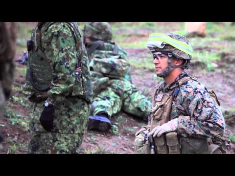 Marines train with Japan Ground Self-Defense Force