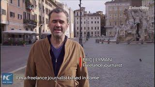 Diary in Rome: As Rome's coronavirus lockdown drags on, number of rule-breakers is rising