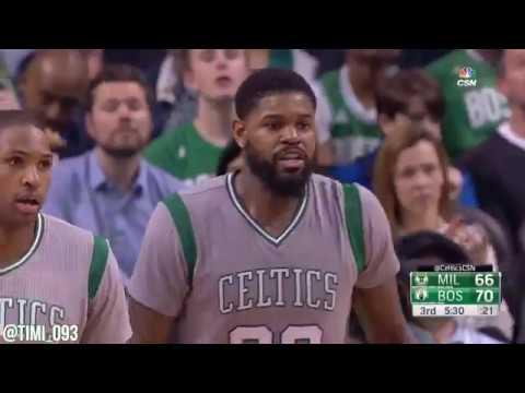 Amir Johnson Highlights vs Milwaukee Bucks (16 pts, 5 reb)