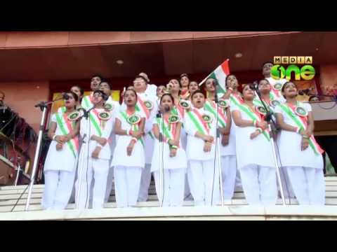 Indian expatriates in Kuwait celebrate the 68th Independence Day