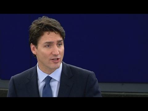 Trudeau's full speech to the European Parliament