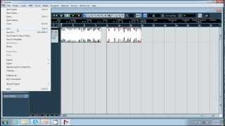 NUENDO TUTORIAL - Creating Project & Recording Audio