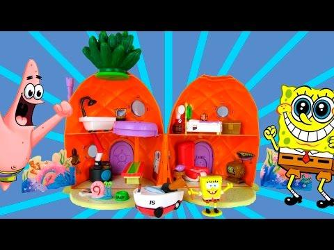 Обзор игрушки Дом Спанч Боба ананас.Мультфильм спанч боб