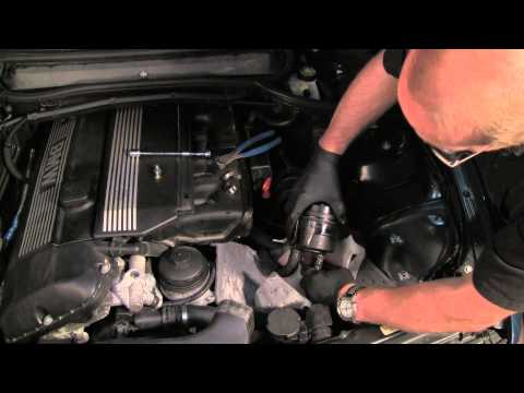 Changing The Power Steering Filter & Fluid On A BMW