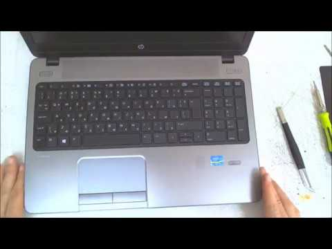 HP ProBook 450 G1 ( 455 G1 ) Disassembly / Fan Cleaning