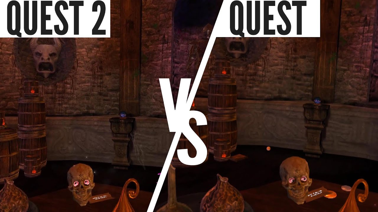 Oculus Quest 2 Erste Grafikvergleiche Mit Quest 1