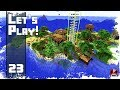 Minecraft Timelapse - SURVIVAL LET'S PLAY - Ep. 23 - Island Decoration! (WORLD DOWNLOAD)