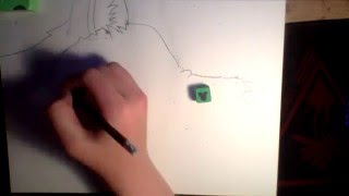 how to draw a fantasy wolf