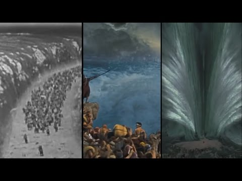 The Visual Effects Of Parting The Red Sea Through The Years