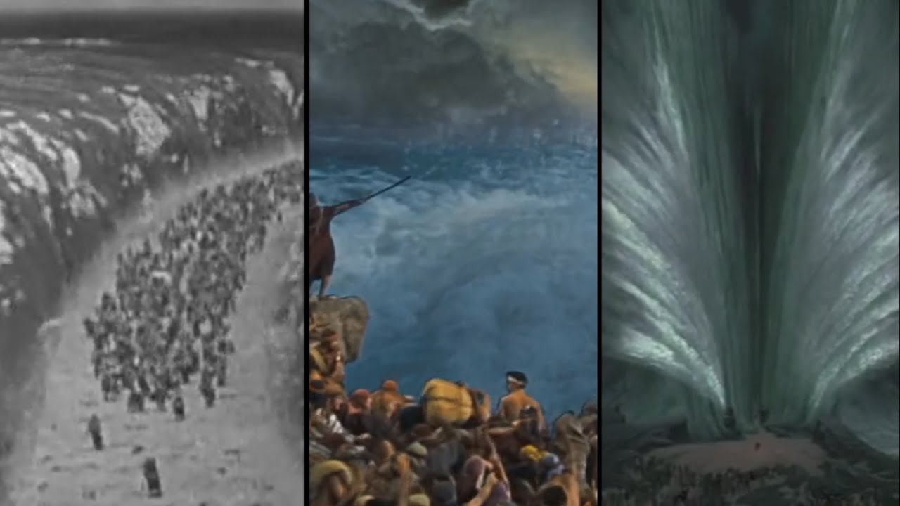 The Visual Effects Of Parting The Red Sea Through The Years YouTube - 27 incredible before and after shots of visual effects in film
