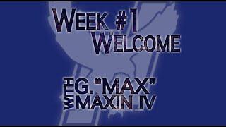 Week 1 Welcome Video, Summer 2020 TTP 339