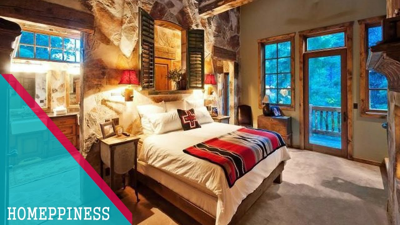 AWESOME !!! 35+ Rustic Bedroom Decorating Ideas With Nice
