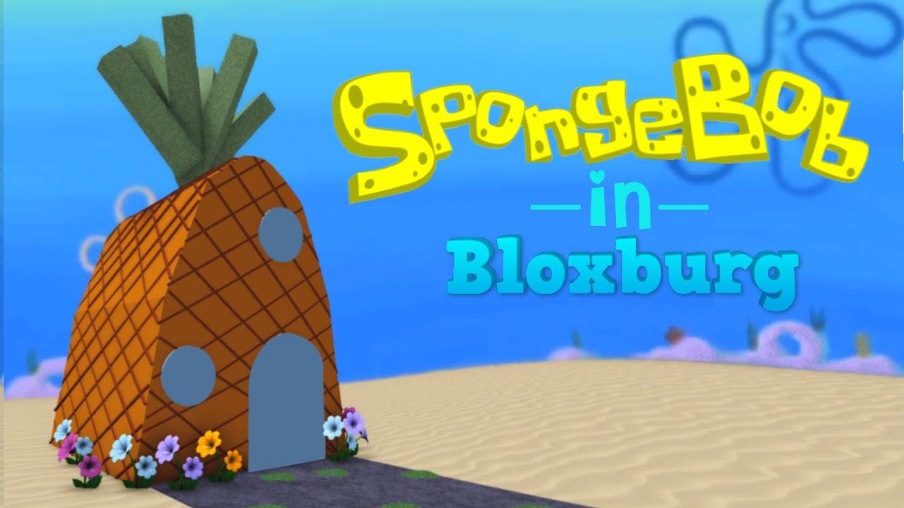 SpongeBob in ROBLOX Bloxburg