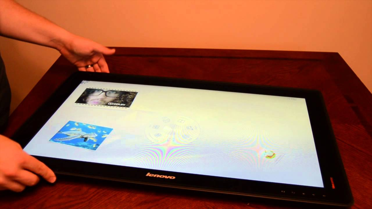 Lenovo Horizon 27 Inch Table PC Tablet Unboxing
