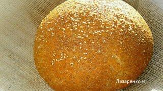 Домашний пшеничный хлеб с отрубями Невероятно вкусный и полезный хлеб
