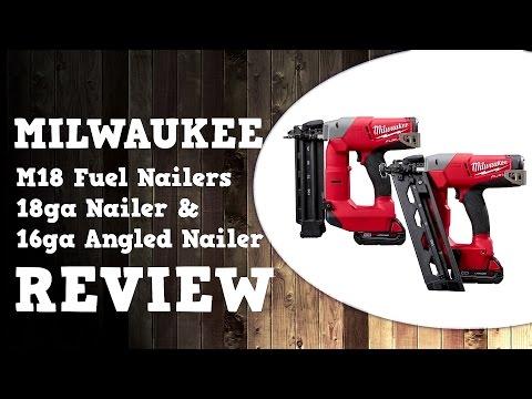 Milwaukee Fuel 15ga Nailer M18cn15ga 15 Gauge Nail Gun