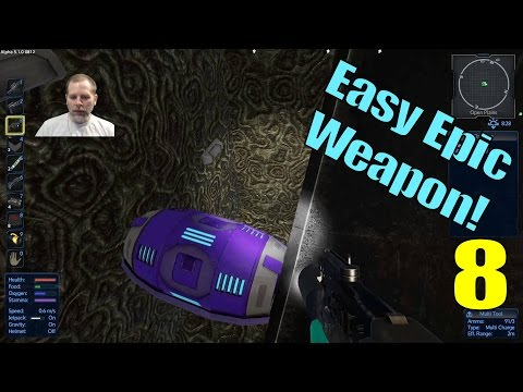 Lift Plays Empyrion S7E8 - Sneaky Epic Weapon Method