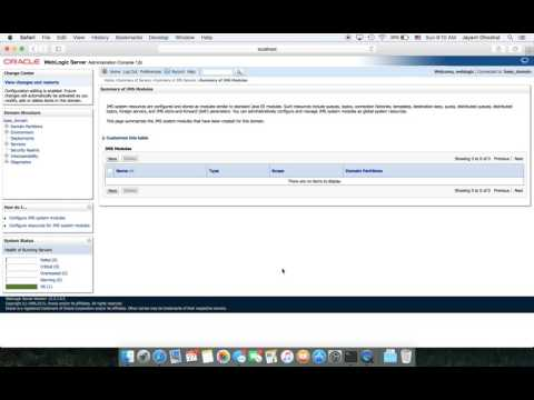 Weblogic JMS Configuration