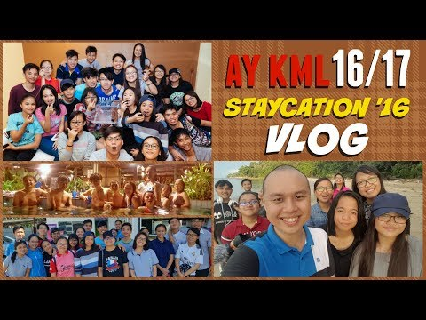 STAYCATION 2016 (Palm Beach Resort, Labuan) | VLOG  | AY KML 16/17