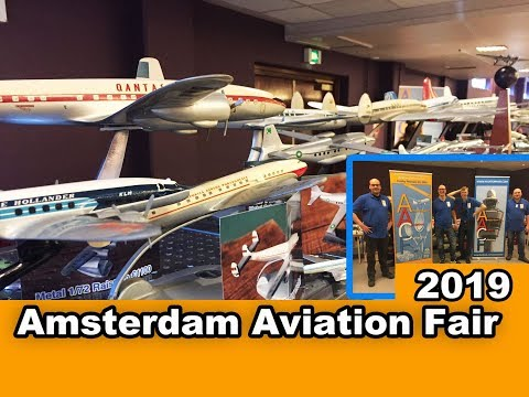 AMSTERDAM AVIATION FAIR 2019 | WORLD'S LARGEST AIRLINE COLLECTIBLES SHOW