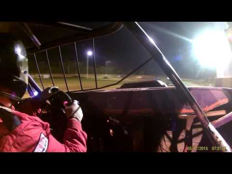 Monett Speedway Pure stock feature 6 24 16