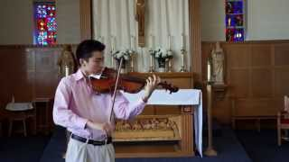 Bach Cello Suite No. 3, IV. Sarabande (viola)