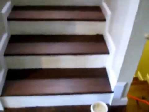 Installing Stair Molding Base Trim Youtube