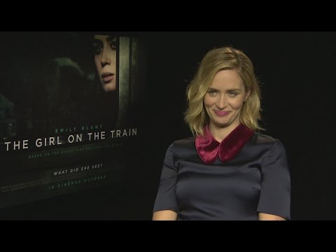 The Girl On the Train: Emily Blunt freaks out because reporter looks just like her brother!