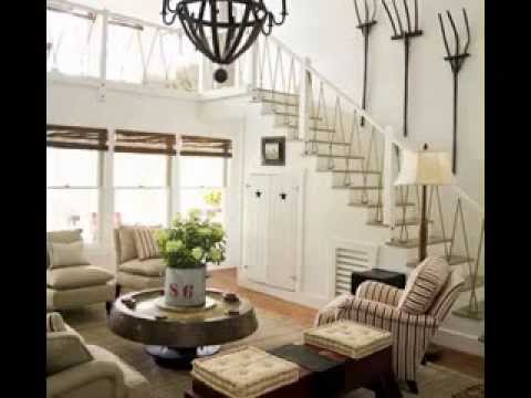 lake house living room ideas double curtains for decor youtube