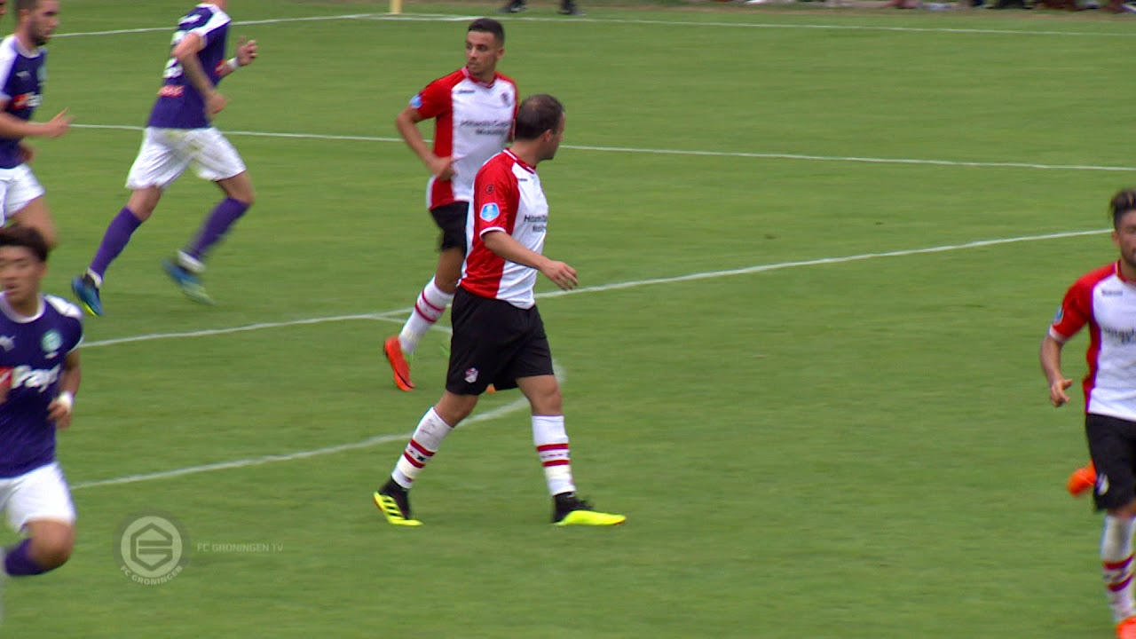 Highlights Fc Groningen Fc Emmen 0 1 21 07 2018 Youtube
