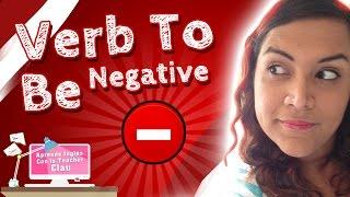 (9.12 MB) Aprende en Inglés Verb To Be Negative (Uso del Verbo To Be de forma negativa) Mp3