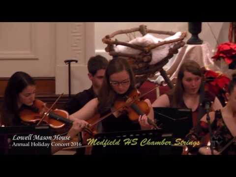 Lowell Mason Annual Holiday Concert 2016
