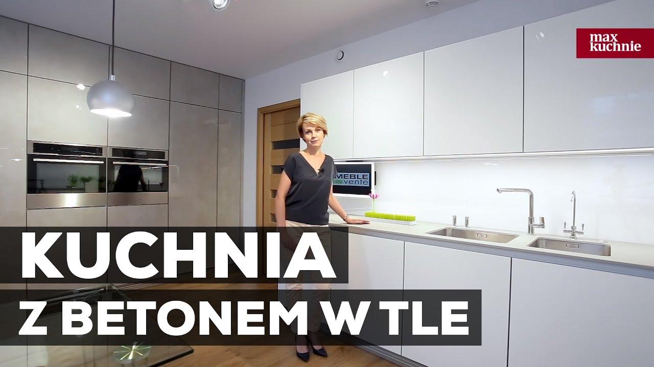 Kuchnia Z Betonem W Tle Studio Max Kuchnie Vente Chełm