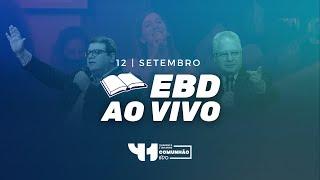 UMA IGREJA VITORIOSA SOBRE AS PROVAÇÕES | EBD 12/09/2021