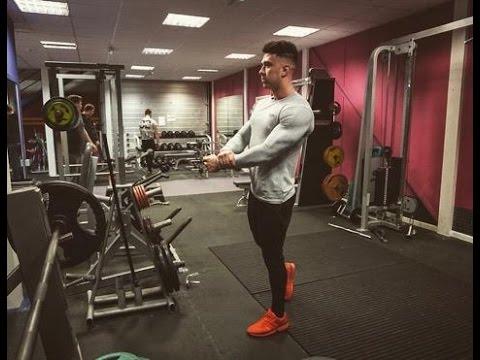 beastly back/bicep workout  fitness motivation workout