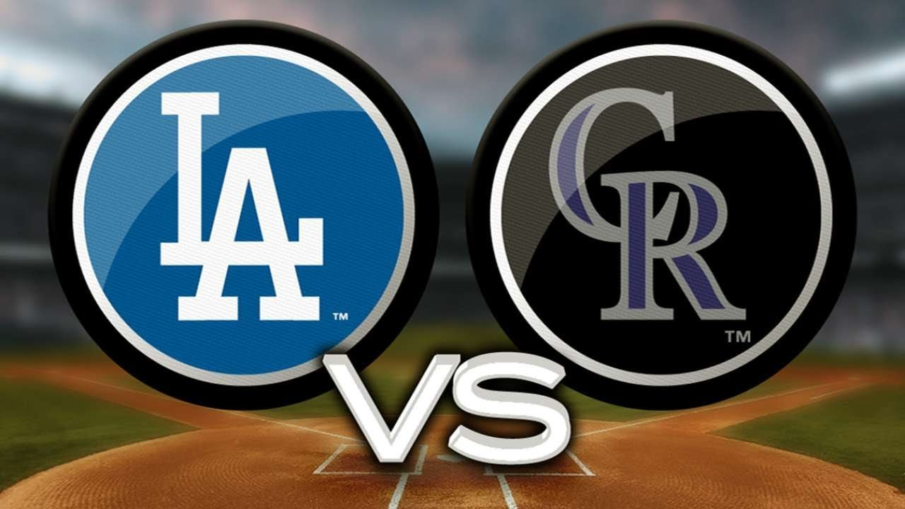 Image result for rockies vs dodgers