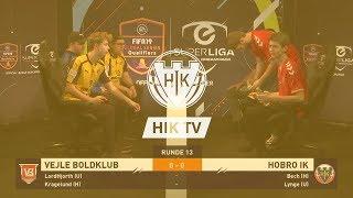 eSuperliga highlights: Hobro IK 5 - 3 Vejle Boldklub (11-12-18)