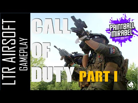 [Fr] Mirabel Paintball - Call of Duty 2016 part 1 - LTR airsoft
